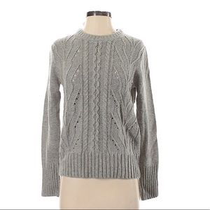 J CREW Pullover Gray Sweater Size Small NEW